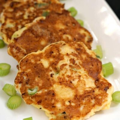 Tender Low-Carb Chicken Fritters Recipe