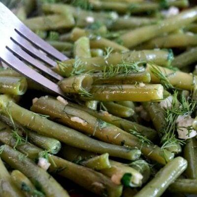 Last-Minute Sautéed Green Beans with Garlic