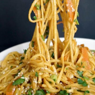 15-Minute Chinese Sesame Noodles Recipe