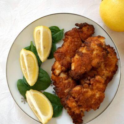 Fried Buttermilk Chicken Tenders