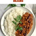 Homemade Chili with Beans, or comfort food at its best. Low-carb, high in protein, this dish is healthy, delicious and nutritious. This delightful Mexican-inspired chili con carne is the most delicious dinner you can have with your family.