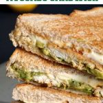 Grilled Chicken Avocado Sandwich with a lemon kick, a healthy and delicious recipe that makes a great breakfast or a quick healthy lunch. Ready in about 10 minutes. Great as a meal on the go, or even in your kid's school lunch box.