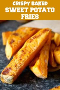 Learn how to make crispy baked sweet potato fries that are not only super delicious, but also healthy. A great side side or just a nutritious snack whenever hunger strikes. Low in calories and fat, these fries are just amazing.