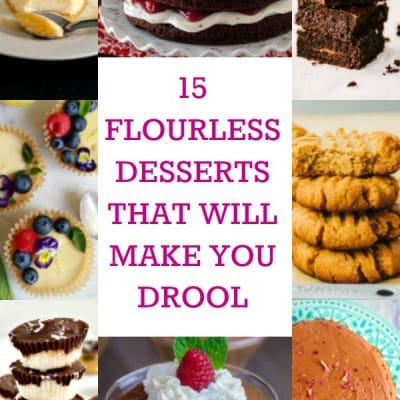 15 Flourless Desserts That Will Make You Drool