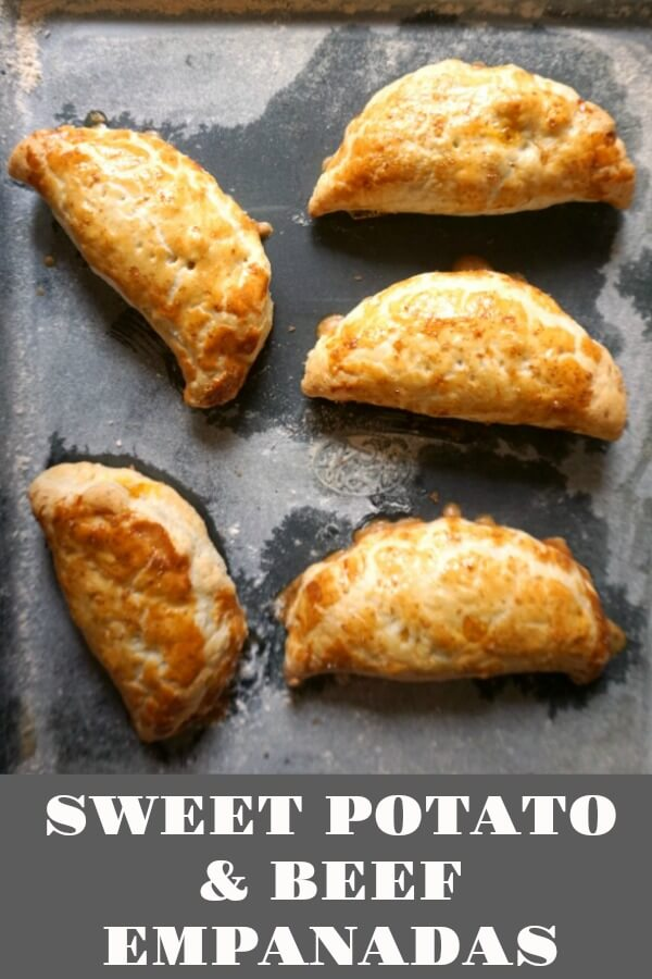 Sweet Potato and Beef Empanadas with Puff Pastry, a delicious snack that can be a great addition to your picnic basket, or the kids' school lunch box. Filling, easy to make, and super delicious.