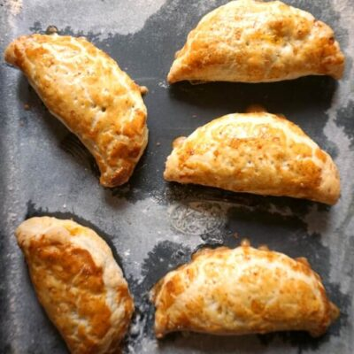 Sweet Potato & Beef Empanadas with Puff Pastry