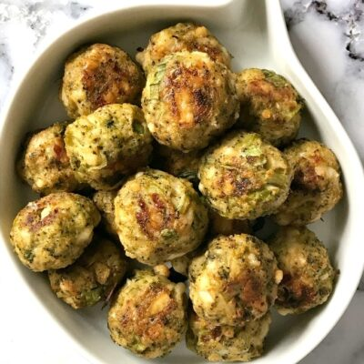 Healthy Baked Broccoli Bites for Toddlers