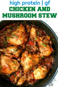 Chicken Stew with Mushrooms