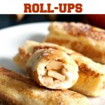 pple Pie French Toast Roll-Ups, an indulgent breakfast or brunch that tastes of Fall. Perfect for lazy weekend days when you want to treat yourself, they can also be enjoyed as a dessert, or snack. Super quick and easy, these rolls go down a treat with the whole family.