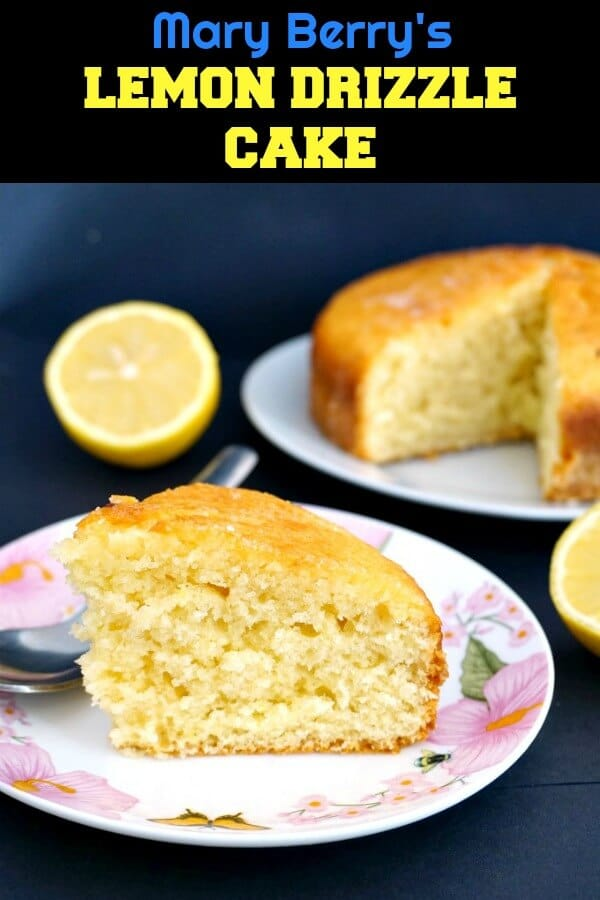 A simple but impressive cake adapted from one of Mary Berry's awesome desserts, this Moist Lemon Drizzle Cake is one of Great Britain's favourite cake recipes. Moist, flavourful, super easy to whip up, and great for any party.