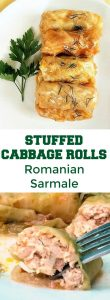 Romanian Sarmale or the best stuffed cabbage rolls with meat and rice. Our national dish can't be more delicious and comforting. Christmas and other important holidays would not be the same without these amazing rolls.