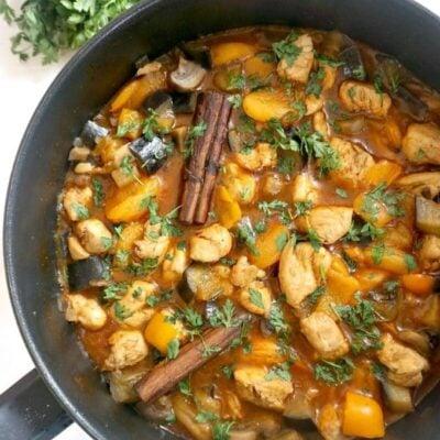 Easy Moroccan Chicken Tagine