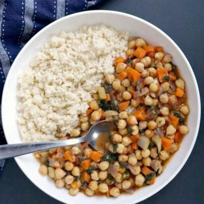 Easy Vegan Chickpea Stew