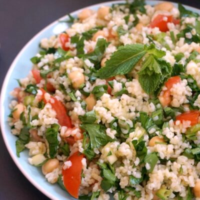 Easy Chickpea Tabbouleh Recipe