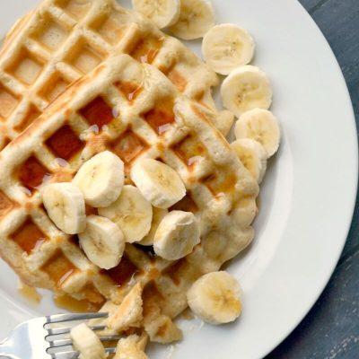 Banana Waffles (No Added Sugar)